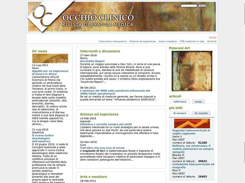 Occhio Clinico | Rivista | Zadig