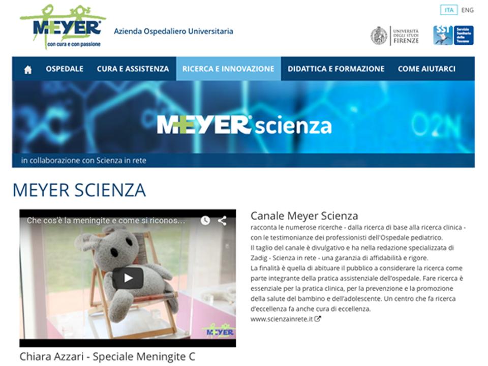 Meyer Scienza: divulgazione della ricerca scientifica| Zadig