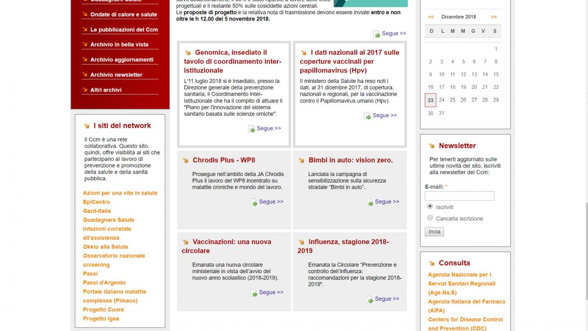 sito CCM Network | Zadig