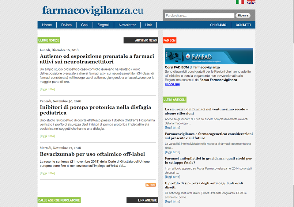 Sito farmacovigilanza.eu| Zadig